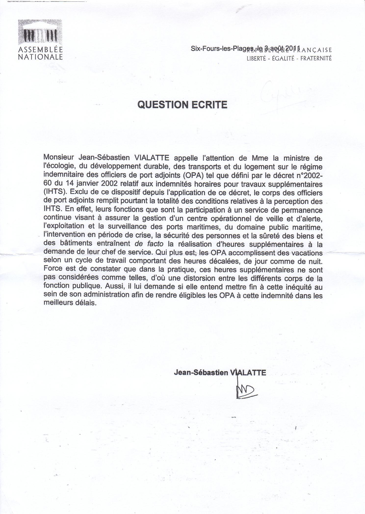 Officier de - Grille indiciaire des directeurs territoriaux ...